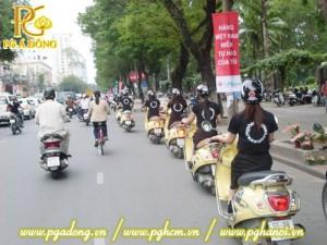 Tổ chức chạy Roadshow xe Attila vàng