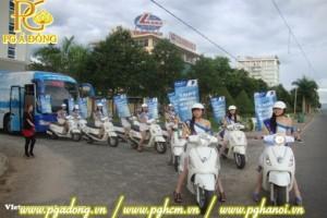 Tổ chức chạy Roadshow VNPT Attila Trắng