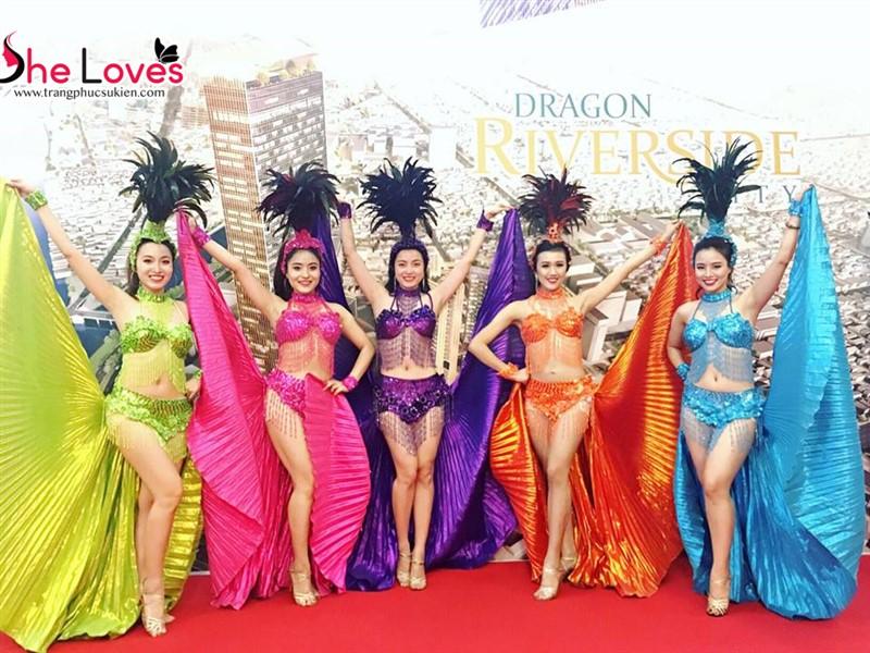 cung cấp nhóm múa carnival
