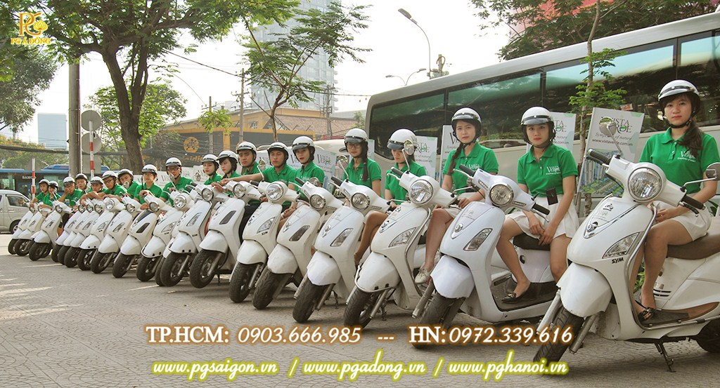 Tổ chức chạy Roadshow xe máy Capitaland