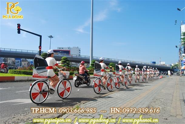 Chạy Roadshow xe đạp  cho sản phẩm Kodad