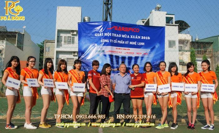 Cung cấp PG Khai Mạc Hội Thao