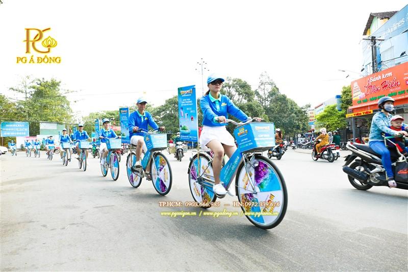 Đoàn roadshow xe đạp tại Cần Thơ