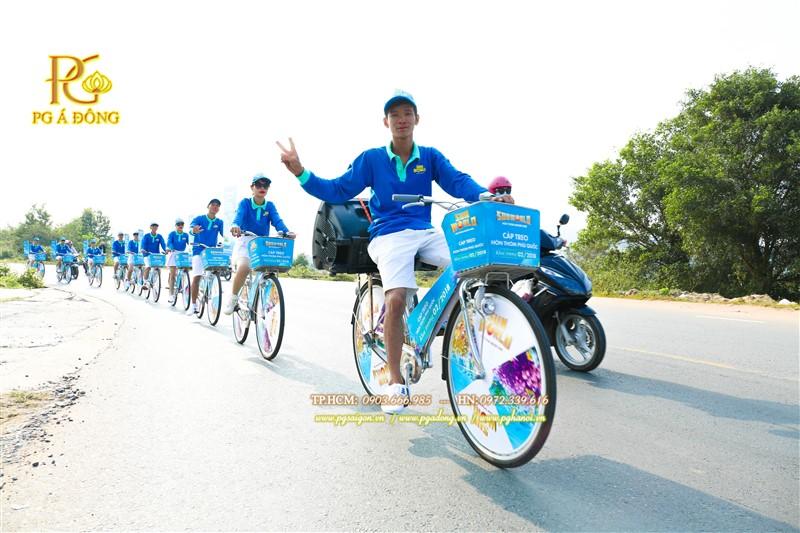 Đoàn roadshow xe đạp tại Phú Quốc
