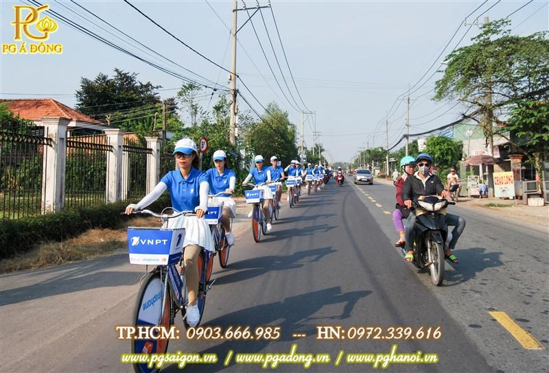 Tổ chức roadshow xe đạp VNPT