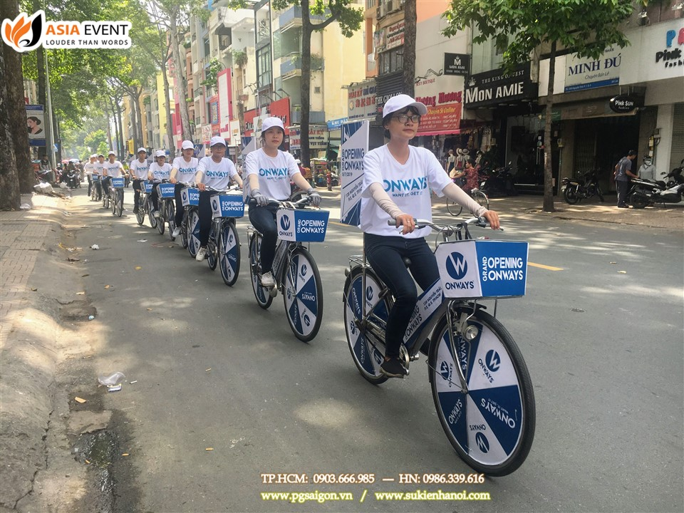Tổ chức roadshow xe đạp onways