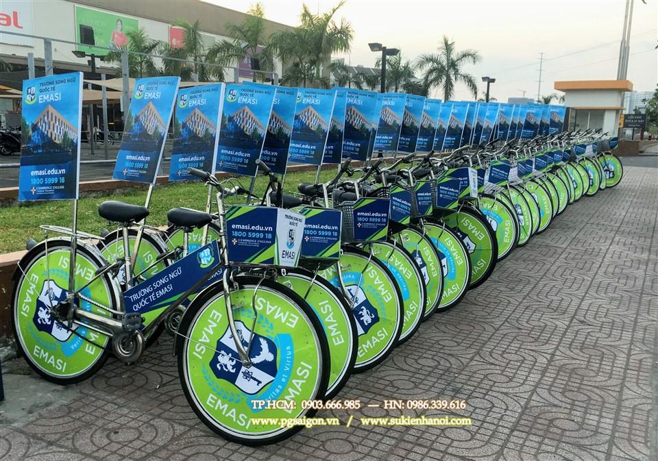 Cho thuê xe đạp roadshow Emasi