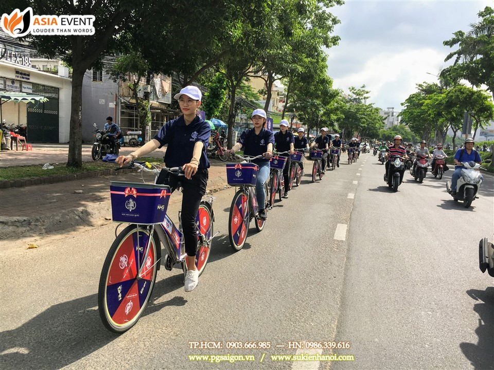 Tổ chức roadshow xe đạp UK