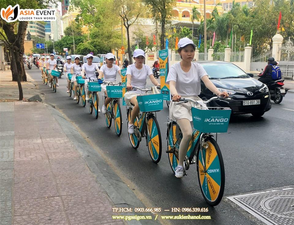 Tổ chức roadshow xe đạp Ikango