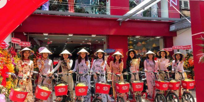 Tổ chức roadshow xe đạp điện Thái Tuấn