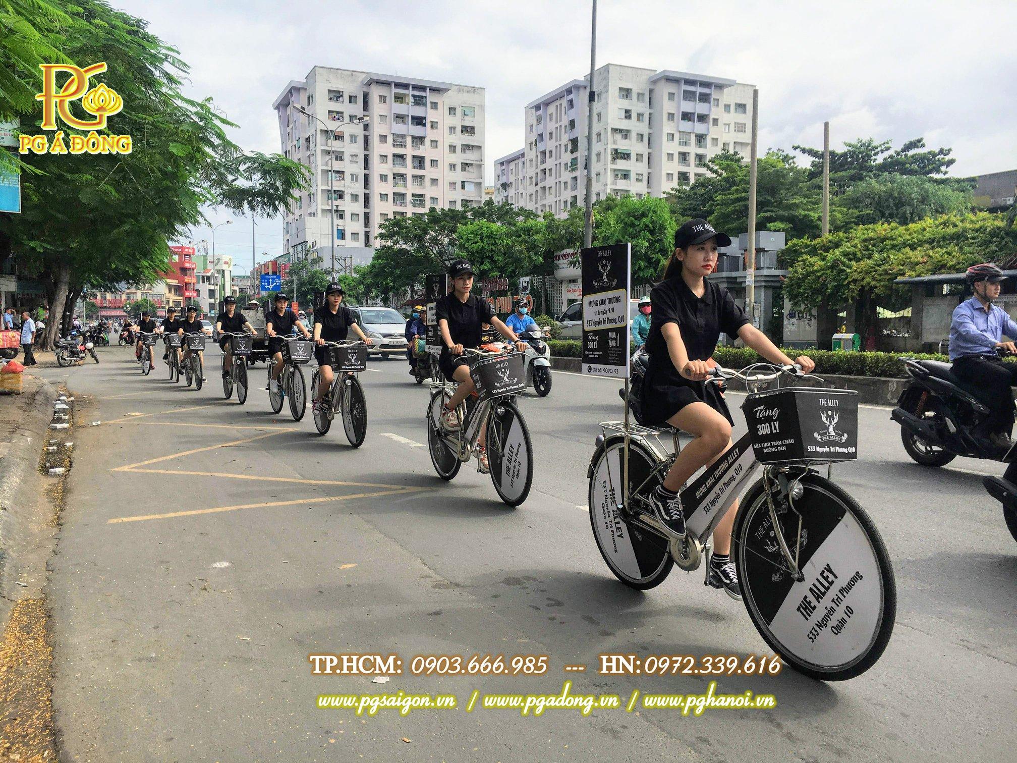Tổ chức roadshow xe đạp The Alley