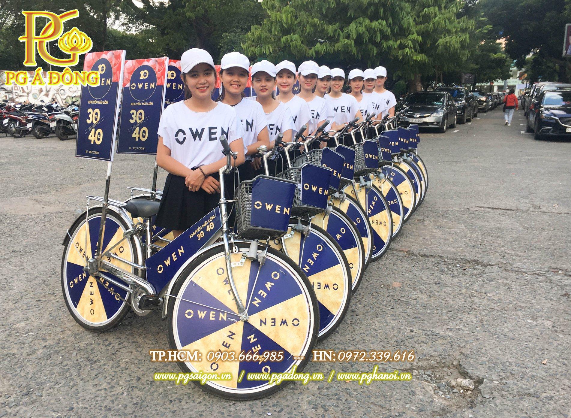 Đoàn roadshow xe đạp tại Công Viên Lê Văn Tám