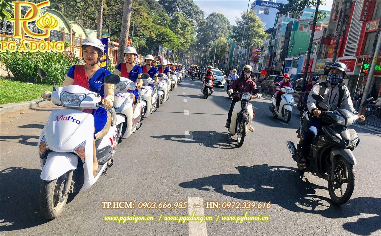 Tổ chức roadshow xe máy Lead