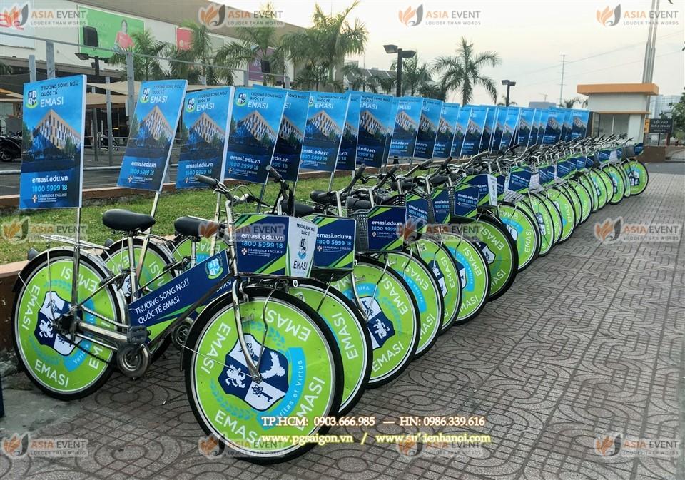 Tổ chức roadshow xe đạp Emasi