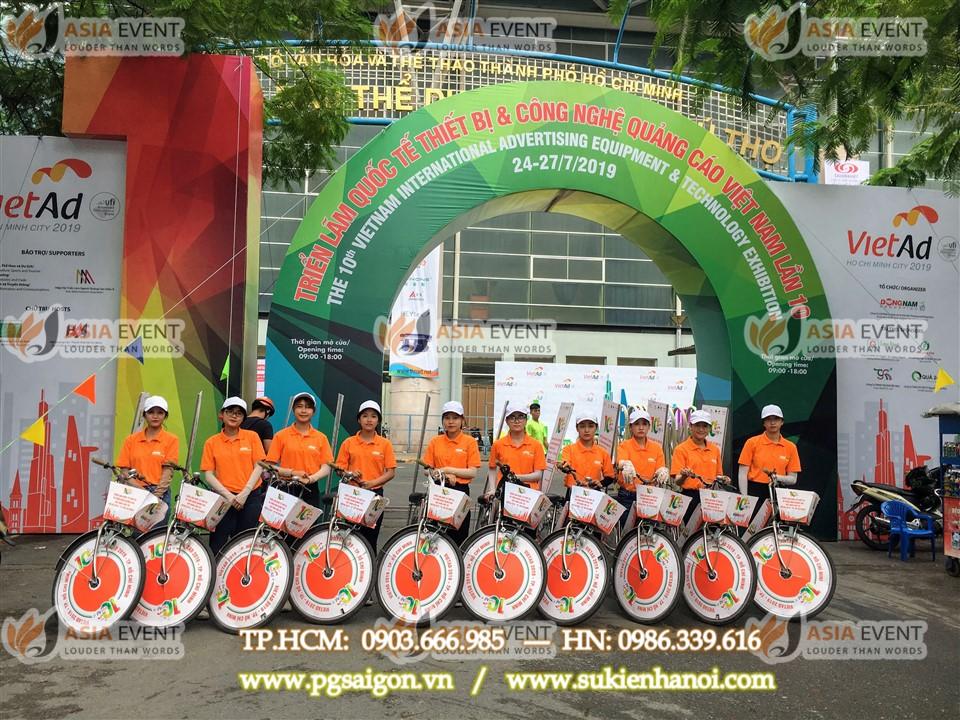 tổ chức roadshow xe đạp Đông Nam