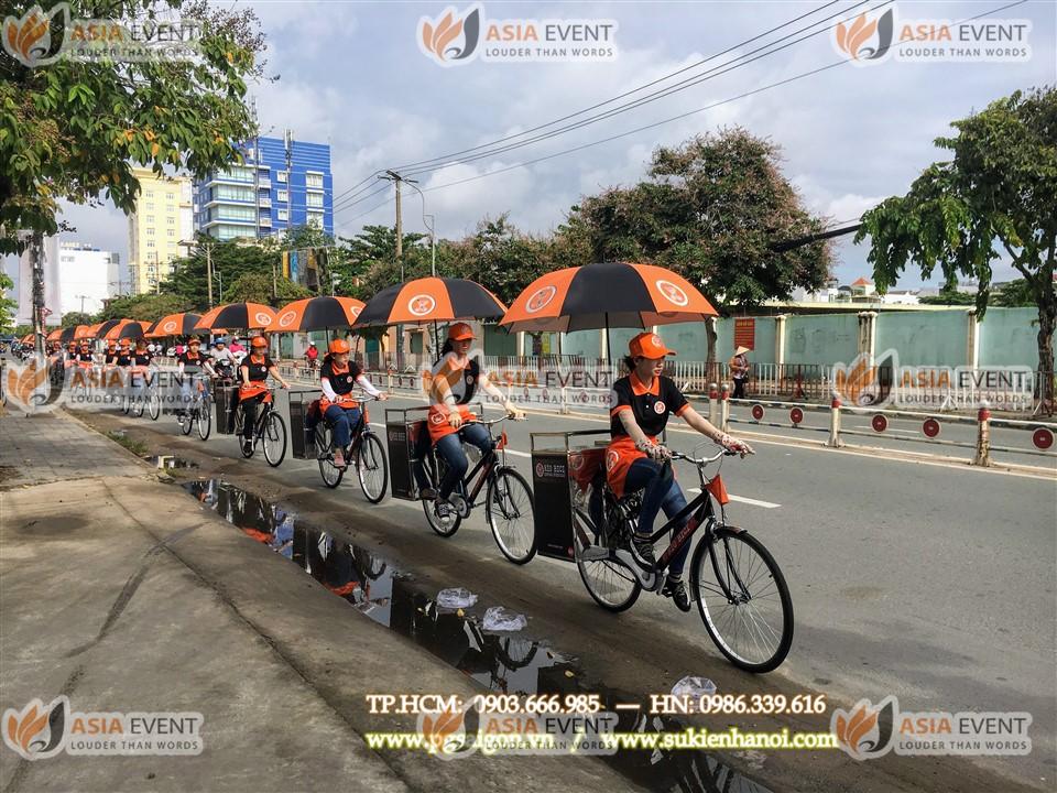 Tổ chức roadshow xe đạp cafe Rio Bici